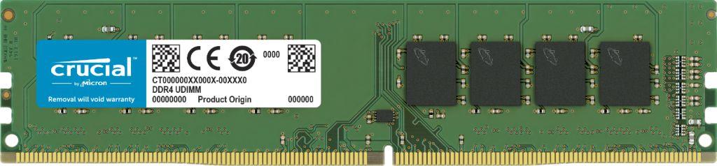 MEMÓRIA 8GB DDR4 2666MHZ CRUCIAL - CT8G4DFRA266