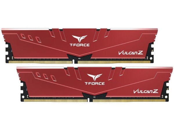 MEMÓRIA DDR4 T-FORCE VULCAN-Z RED 16GB (2X8GB) 3000MHZ - TLZRD416G3000HC16CDC01
