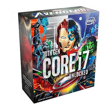 PROCESSADOR INTEL CORE I7-10700K AVENGERS EDITION OCTA-CORE 3.8GHZ (5.1GHZ TURBO) 16MB CACHE LGA1200, BX8070110700KA