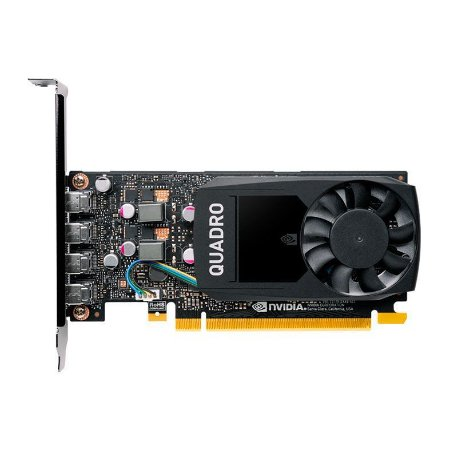 PLACA DE VIDEO PNY QUADRO P1000 V2 4GB GDDR5 128-BIT, VCQP1000V2-PB