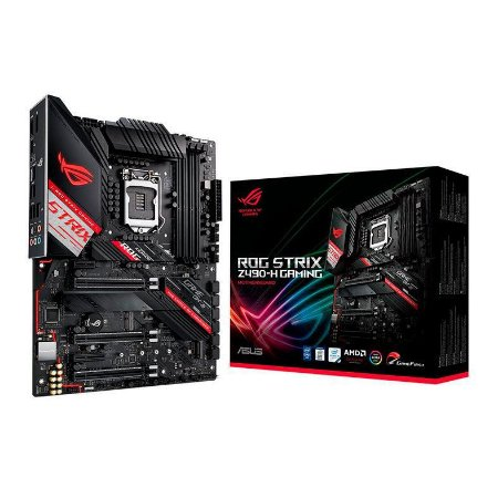PLACA MAE ASUS ROG STRIX Z490-H GAMING DDR4 SOCKET LGA1200 INTEL Z490