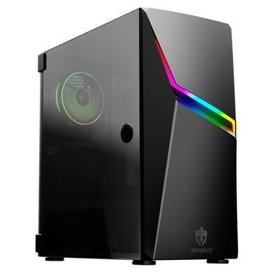 COMPUTADOR RYZEN 5 2600 - 8GB DDR4 - SSD 240GB - GABINETE VENTILADO - FONTE 500W REAIS
