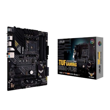 PLACA MAE ASUS TUF GAMING B550-PLUS DDR4 SOCKET AM4 CHIPSET AMD B550