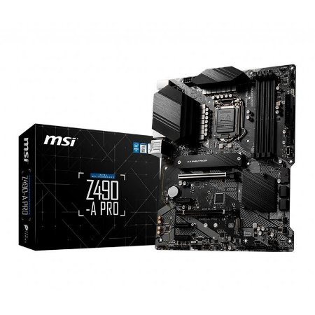 PLACA MAE MSI Z490-A PRO DDR4 SOCKET LGA1200 INTEL Z490