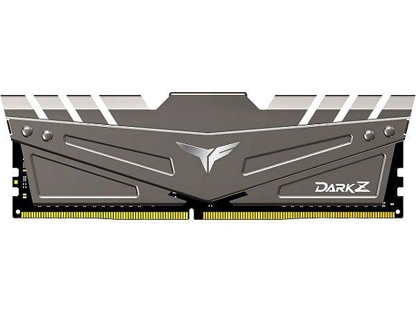 MEMÓRIA T-FORCE DARK Z 32GB DDR4 3200 (PC4 25600) CINZA - TDZGD432G3200HC16C01