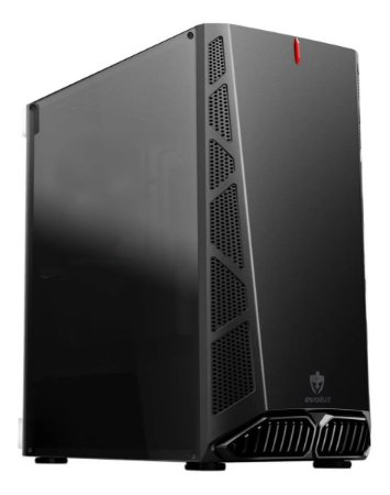 GABINETE GAMER MIDTOWER DANDY EG-810 LATERAL ACRÍLICO EVOLUT