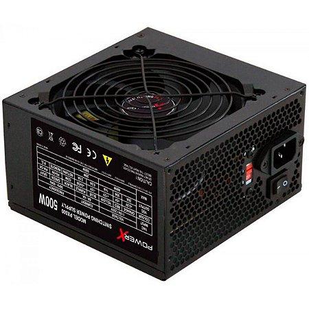 FONTE POWER X 500W PX500 ATX SATA - PX500A2001995