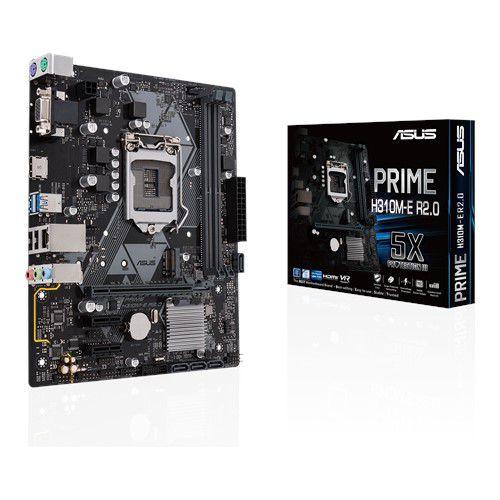 PLACA MÃE ASUS PRIME H310M-E R2.0, INTEL LGA 1151 mATX, DDR4 - 90MB0Z20-M0EAY0