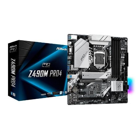 PLACA MAE ASROCK Z490M PRO4 DDR4 SOCKET LGA1200 INTEL Z490
