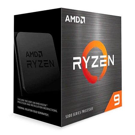 PROCESSADOR AMD RYZEN 9 5950X 16-CORE 3.4GHZ (4.9GHZ TURBO) 72MB CACHE AM4 - 100-100000059WOF