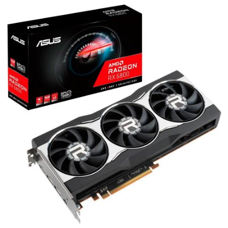 PLACA DE VÍDEO ASUS AMD RADEON RX 6800, 16G, GDDR6 - RX6800-16G