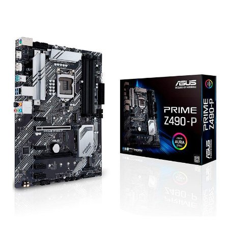 PLACA MAE ASUS PRIME Z490-P DDR4 SOCKET LGA1200 INTEL Z490