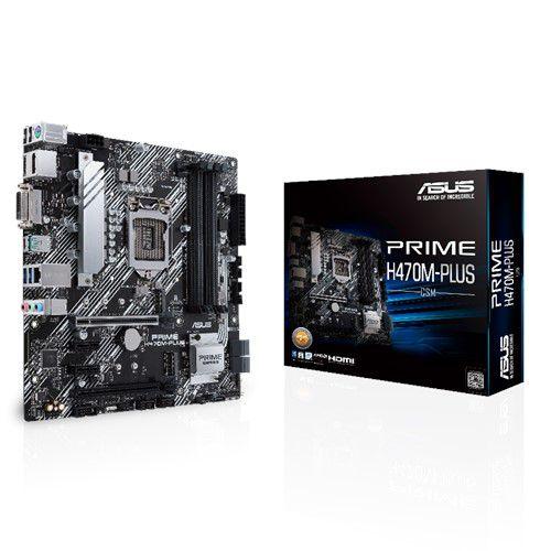 PLACA MAE ASUS PRIME H470M-PLUS DDR4 SOCKET LGA1200 CHIPSET INTEL H470, PRIME H470M-PLUS