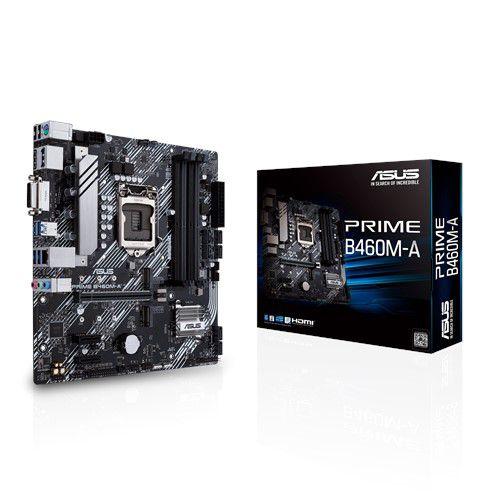 PLACA MAE ASUS PRIME B460M-A DDR4 SOCKET LGA1200 INTEL B460, PRIME B460M-A