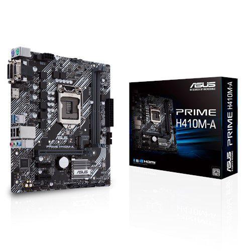 PLACA MAE ASUS PRIME H410M-A DDR4 SOCKET LGA1200 INTEL H410, PRIME H410M-A