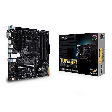 PLACA MAE ASUS TUF GAMING A520M-PLUS DDR4 SOCKET AM4 CHIPSET AMD A520