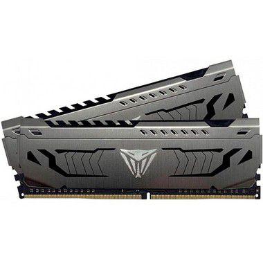 MEMÓRIA DDR4 PATRIOT VIPER STEEL, 32GB (2X16GB) 3000MHZ, BLACK - PVS432G300C6K