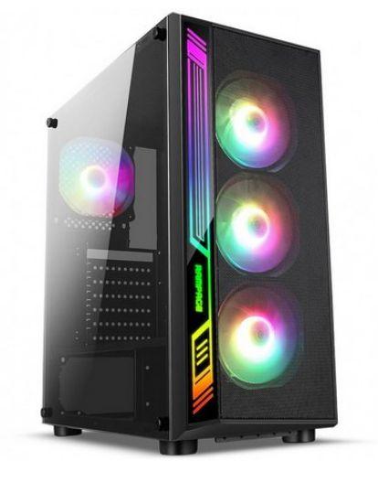 COMPUTADOR GAMER RYZEN 5 3600, 16GB DDR4, SSD 480GB, GTX 1660 6GB, 500W REAIS