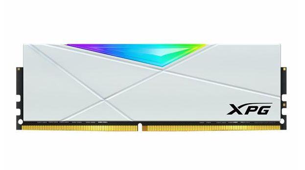 MEMÓRIA ADATA XPG SPECTRIX D50 RGB BRANCO DDR4 8GB 3000MHZ - AX4U300088G16A-SW50