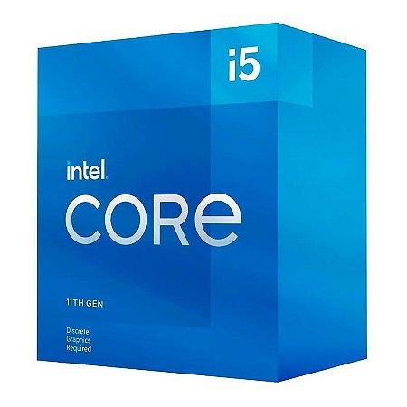 PROCESSADOR INTEL CORE I5-11400F HEXA-CORE 2.6GHZ (4.4GHZ TURBO) 12MB CACHE LGA1200 - BX8070811400F