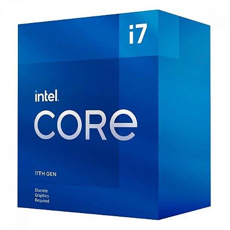 PROCESSADOR INTEL CORE I7-11700 OCTA-CORE 2.5GHZ (4.9GHZ TURBO) 16MB CACHE LGA1200 - BX8070811700