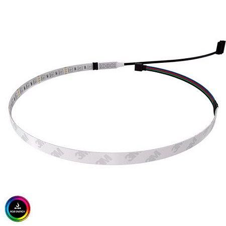 FITA LED RISE MODE PARA GABINETE 50CM RGB - RM-TL-02-RGBM