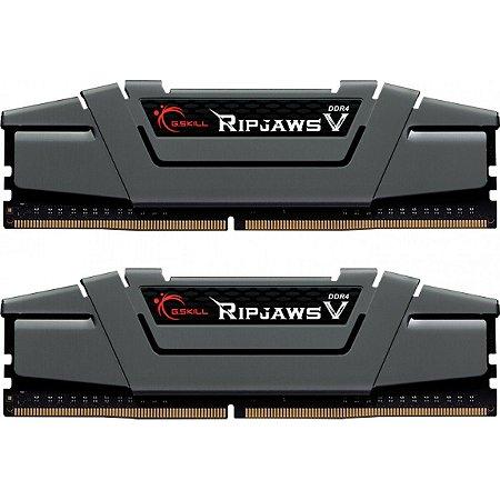 MEMÓRIA DDR4 G.SKILL RIPJAWS V, 16GB (2X8GB) 3200MHZ - F4-3200C16D-16GVGB
