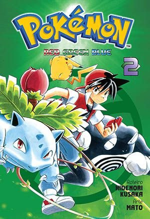 Pokémon Red,Green,Blue Vol.02