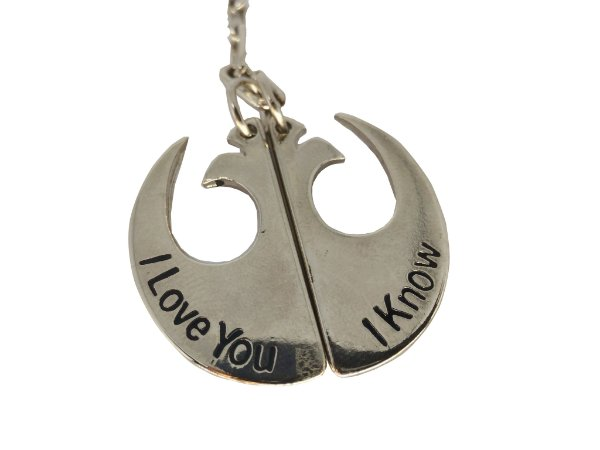 Chaveiro - Star Wars I Love You I Know