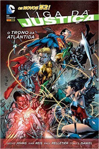 Liga Da Justiça - O Trono De Atlântida