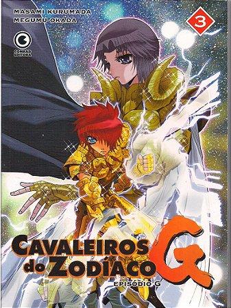 Cavaleiros Do Zodíaco Saga G Vol.03