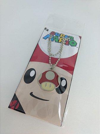 Colar - Cogumelo Mario Bros