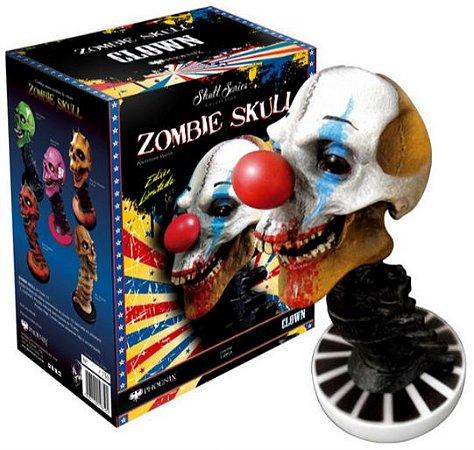 Estátua Zombie Skull Clown: Art Scale Edição Limitada Escala 1/3