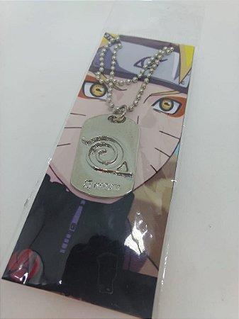 Colar - Naruto Konoha