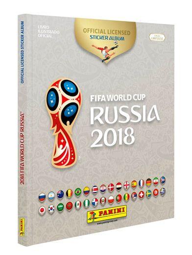 Album Copa Rússia (Edição Limitada) - Capa Dura