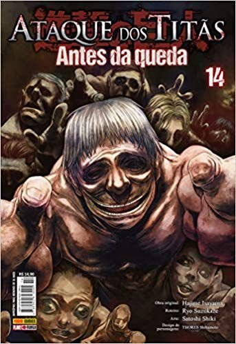 Ataque Dos Titãs - Antes da Queda Vol.14