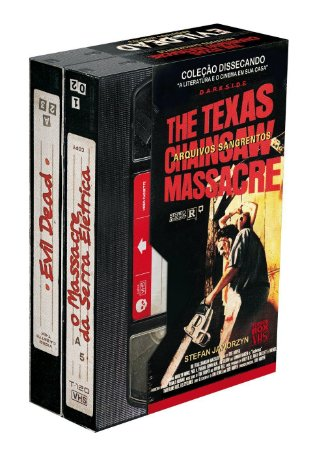 O Massacre da Serra Elétrica + Evil Dead - Caixa Terror VHS