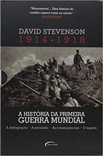 A História da Primeira Guerra Mundial 1914-1918 - Caixa com 4 Volumes