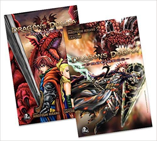 Coleção Dragon's Dogma Progress - Volume 1 e 2