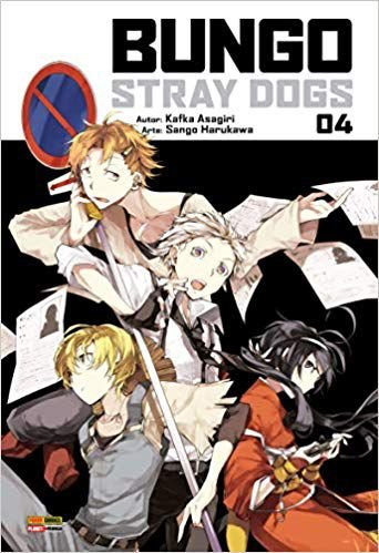 Bungo Stray Dogs Vol.04