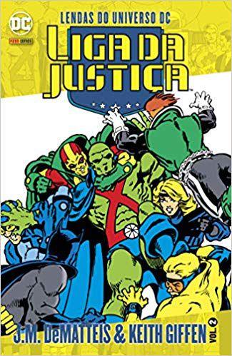 Lendas Do Universo Dc: Liga Da Justiça Vol.02