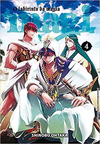 Magi O Labirinto da Magia Vol.04
