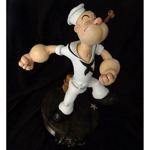 Popeye 1/5 The Sailor Man Statue