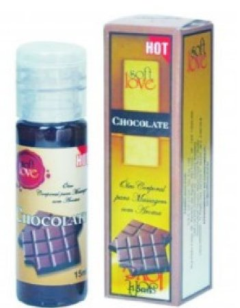 Óleo Corporal - Sabor Chocolate Hot - 15ml