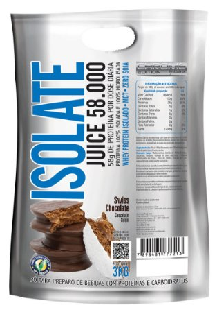 Isolate Juice - 3kg Chrome Nutrition