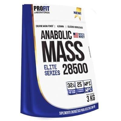 Mass 18500 3kg Baunilha - Refil Body Nutry