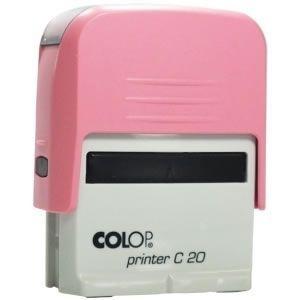 Carimbo Colop Printer 20 - Rosa Bebê