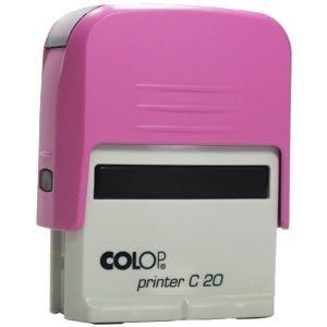 Carimbo Colop Printer 20 - Rosa