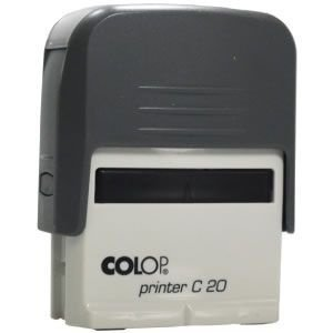 Carimbo Colop Printer 20 - Cinza