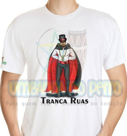 Camiseta Sr. Exu Tranca-Ruas
